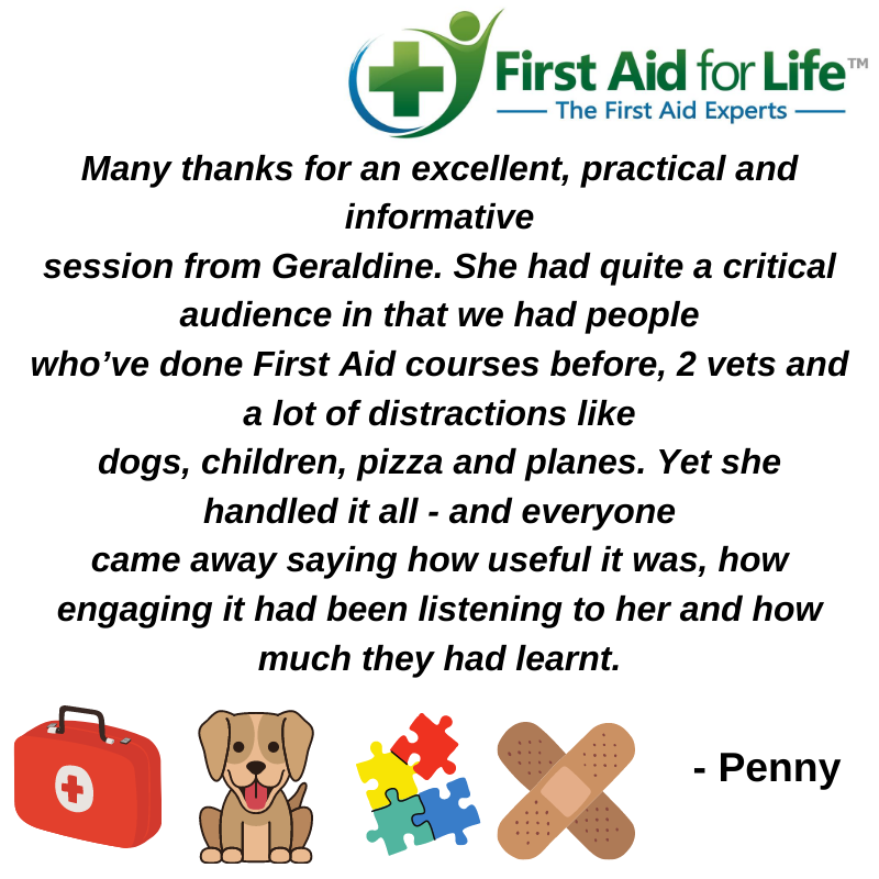 first aid course feedback